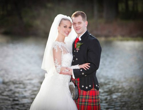 Lovely Scottish wedding