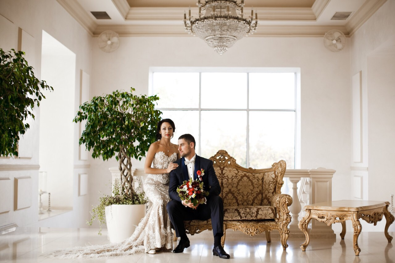 Elegant Wedding of Alena and Vadim