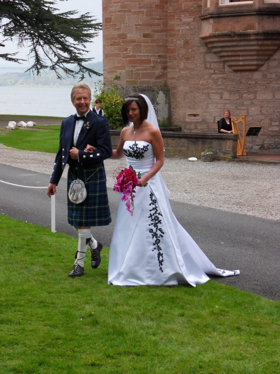 traditional scottish wedding dress | Wedding